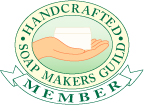Member of the Handcrafted Soap Maker's Guild